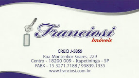 Franciosi Imóveis 31 anos Realizando bons Negócios CRECI J-5859