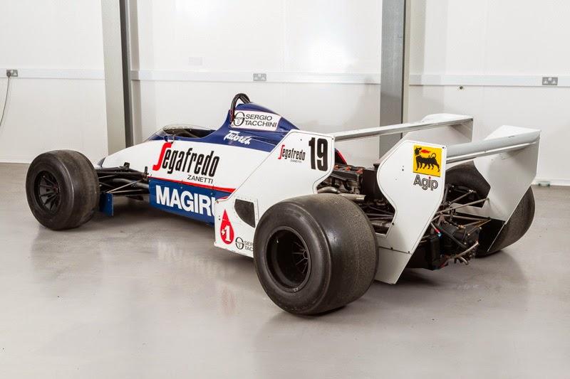 Toleman Hart Ayrton Senna