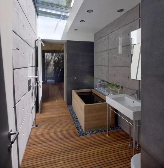 Galeri inspirasi Desain Kamar Mandi Minimalis Menggunakan Shower 2015 yang keren