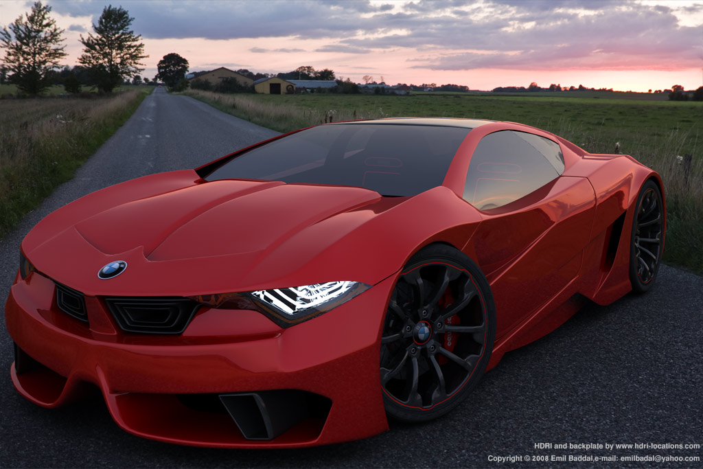 bmw sports car car picture