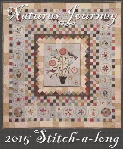 Natures Journey Stitch Along 2015