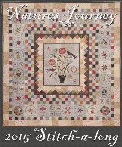 Natures Journey Stitch Along 2015