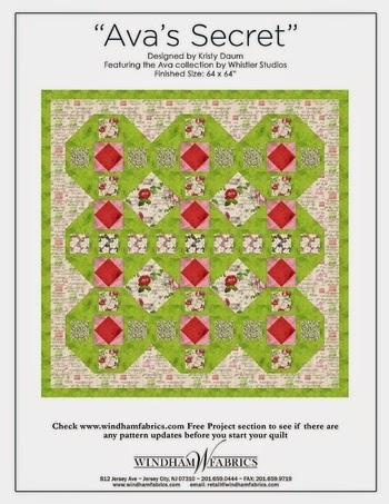 AVA'S SECRET Quilt Pattern
