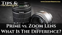 DSLR Tutorial: Prime vs. Zoom Lens, What Is The Difference? | Tips & Techniques