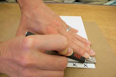 How to cut foamboard