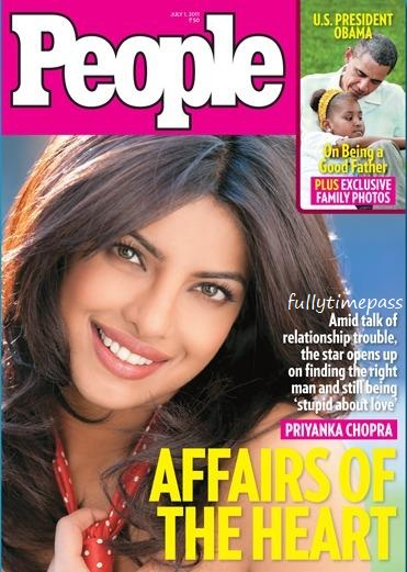 Hot Priyanka Chopra On People Magazine July 2011 Cover Page