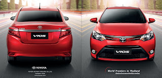 Jalan Biar Ke Depan: The New Toyota Vios 2013