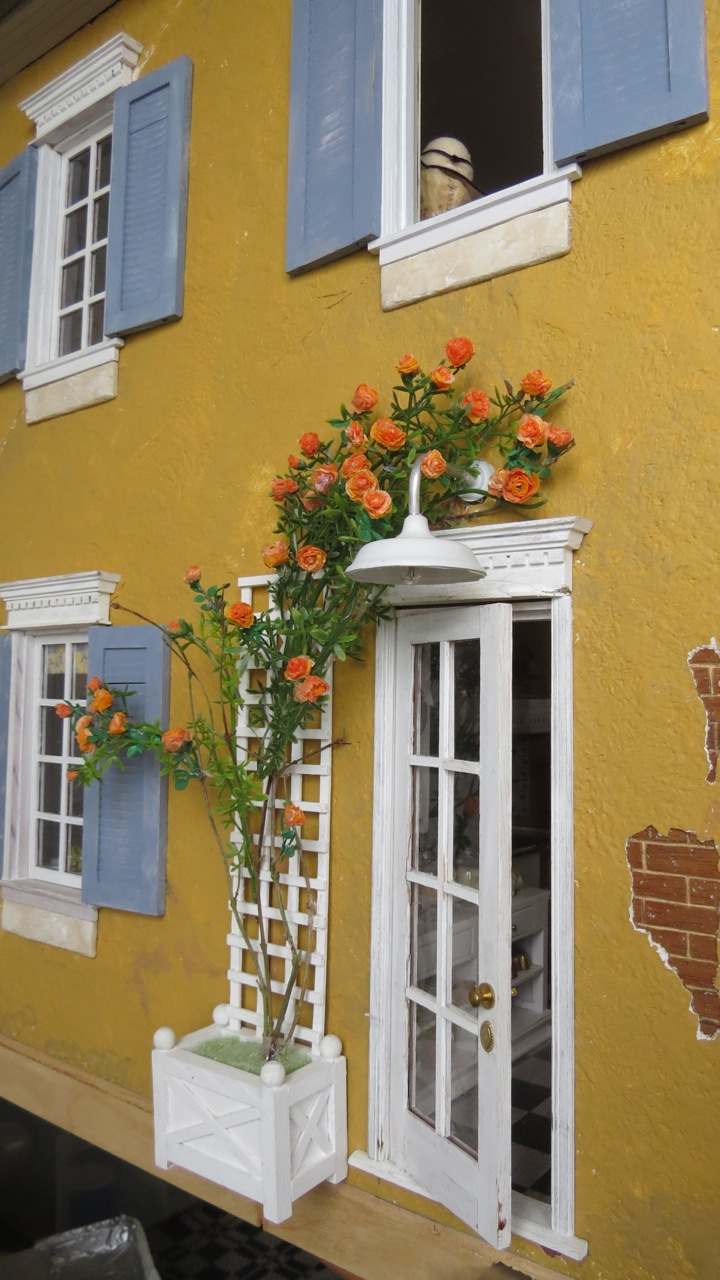 You May Recollect That I Had Been Avoiding Working On The Climbing Rose For  My French House Courtyard Garden. I Hope That A Description Of My Solution  Will ...
