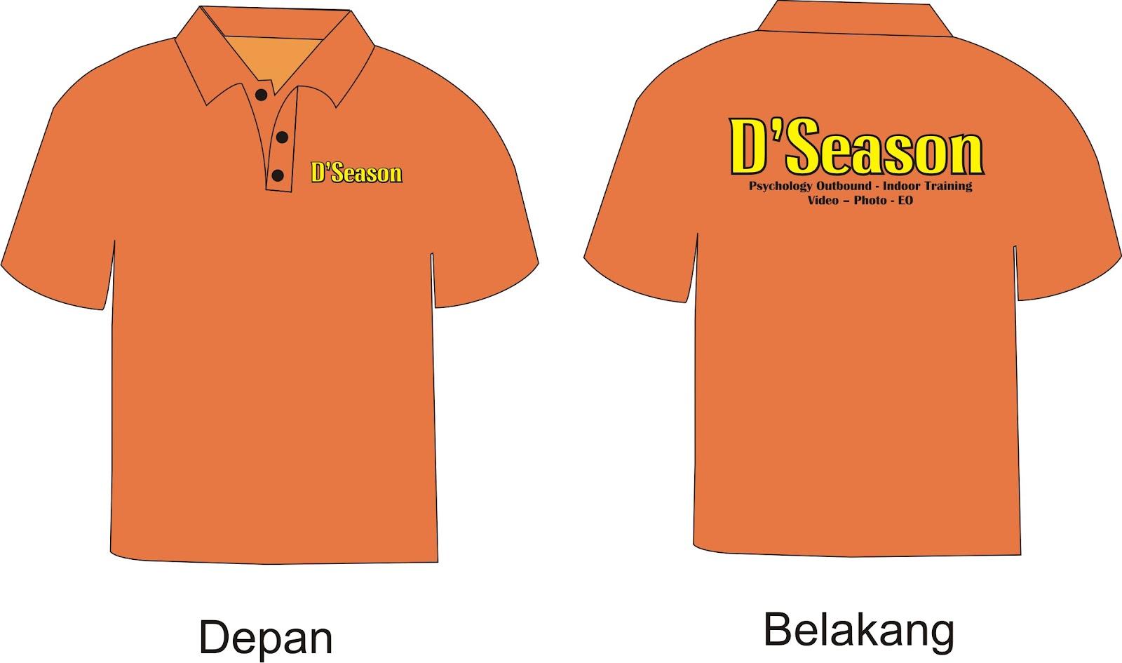Desain t shirt kerah - Design Kaos