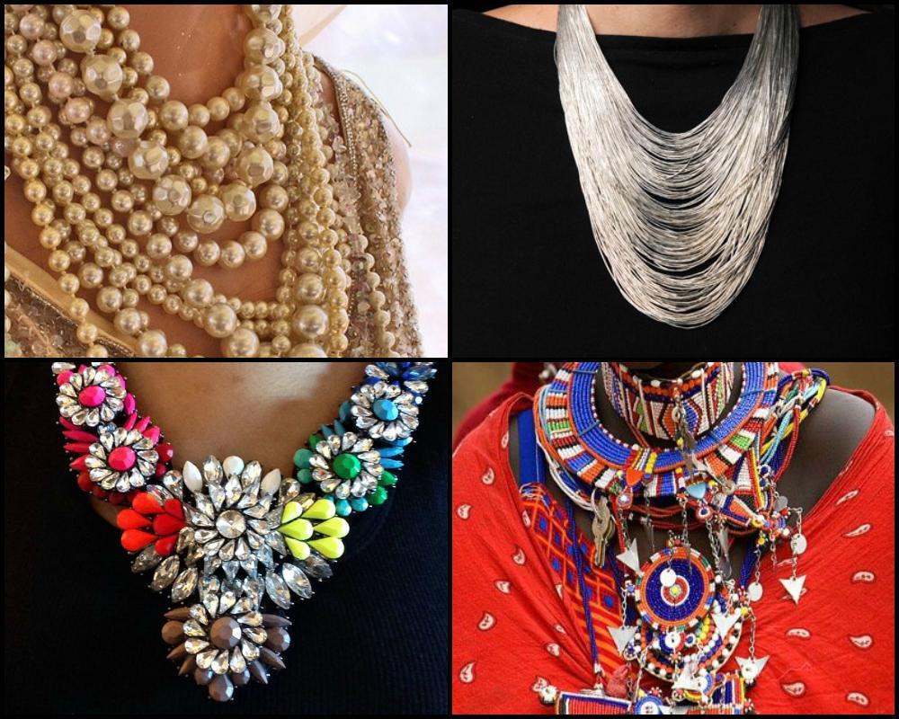 varietà di collane