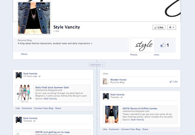 Style Vancity Social Media Update Facebook Page