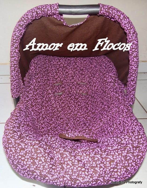 Conhecido AMOR EM FLOCOS Ateliê Avezany - Arte e Costura: Capa para Bebe  YN33