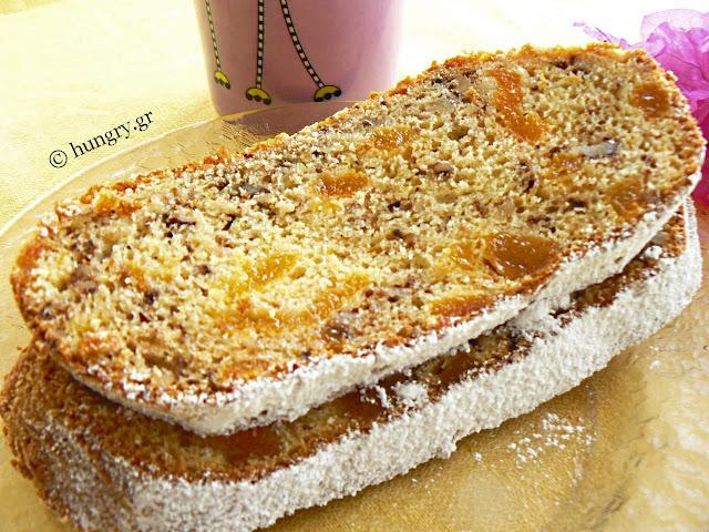 Γλυκό Ψωμί με Βερίκοκα