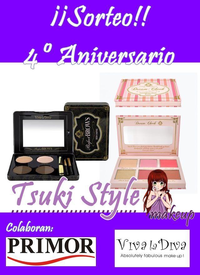 sorteo aniversario tsuki style makeup