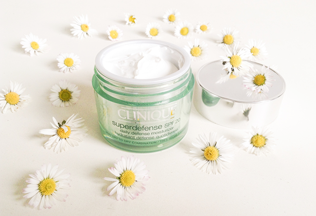 Clinique Superdefence SPF moisturizer blog review