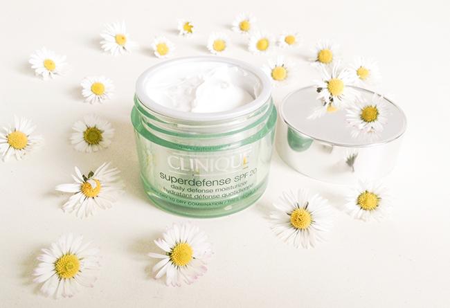 Clinique Superdefence SPF moisturizer blog review