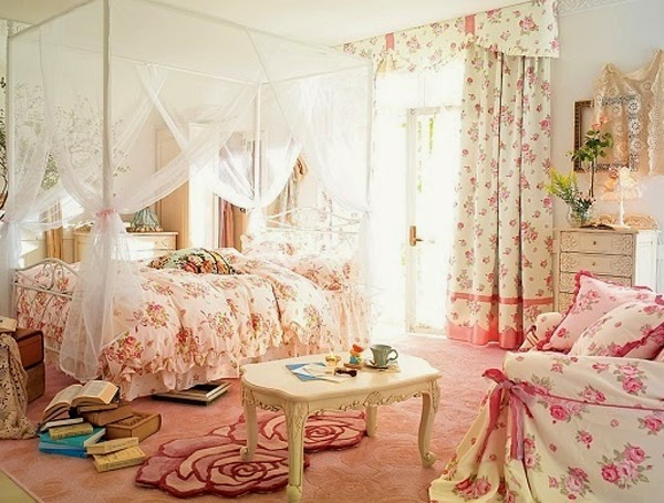 ... Something More Useful, Here You Will See Bedroom Wallpaper With Various  Floral Decoration, Perhaps One Of These Bedrooms Can Inspiring...check It  Out!