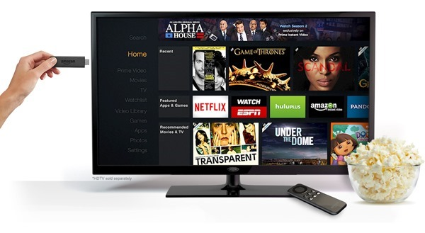 Amazon Fire TV Stick on your HDTV
