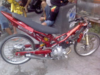 YAMAHA SNIPER MX DRAG BIKE MODIFIED