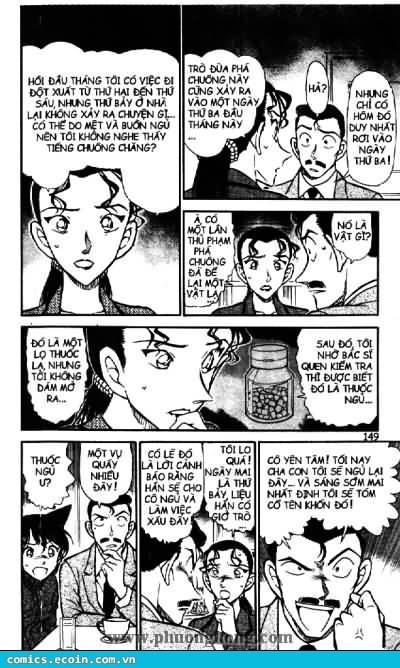 Detective Conan - Thám Tử Lừng Danh Conan chap 499 page 9 - IZTruyenTranh.com