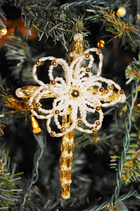 Cross of Mary Chrismon