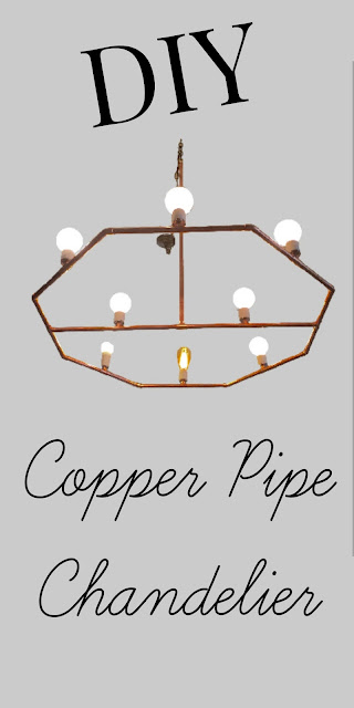 DIY a Copper Chandeiler