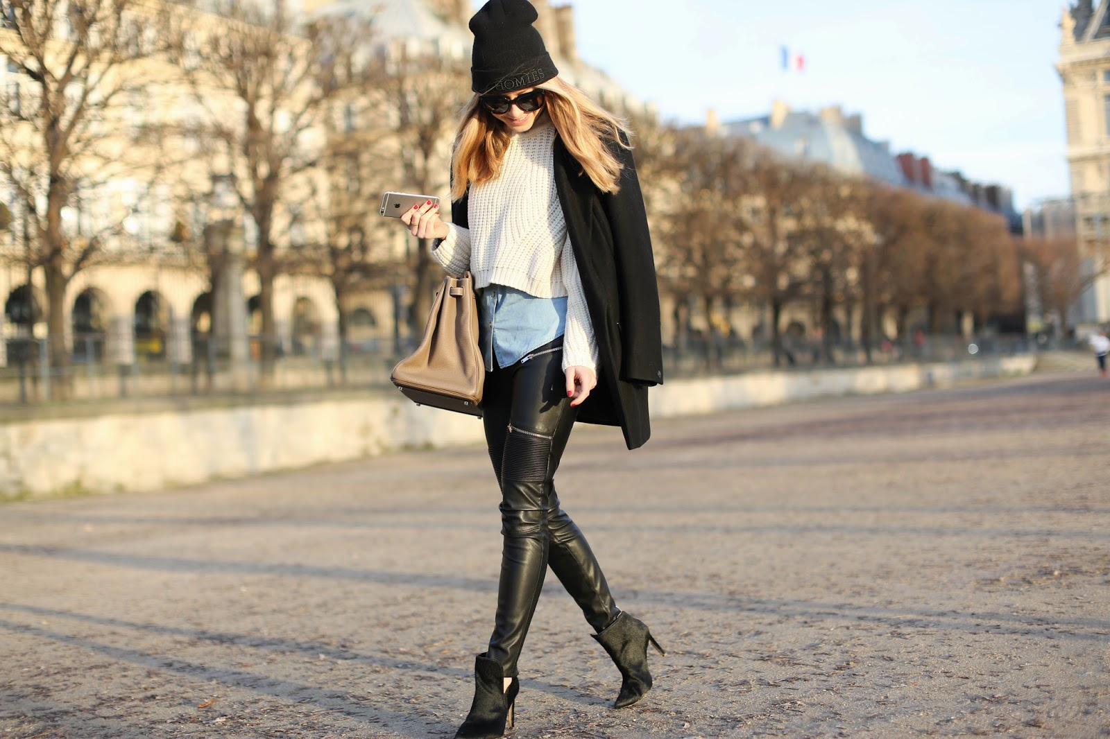 rag and bone, zara, topshop, hermès, birkin, tuileries, streetstyle, paris, friends