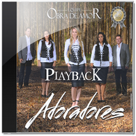 Download CD Equipe Obra de Amor   Adoradores, Playback