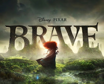 Disney-Pixar animated movie Brave poster