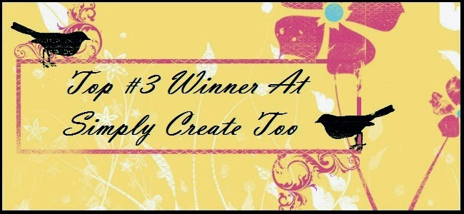 I am so proud to have won at Simply Create Too