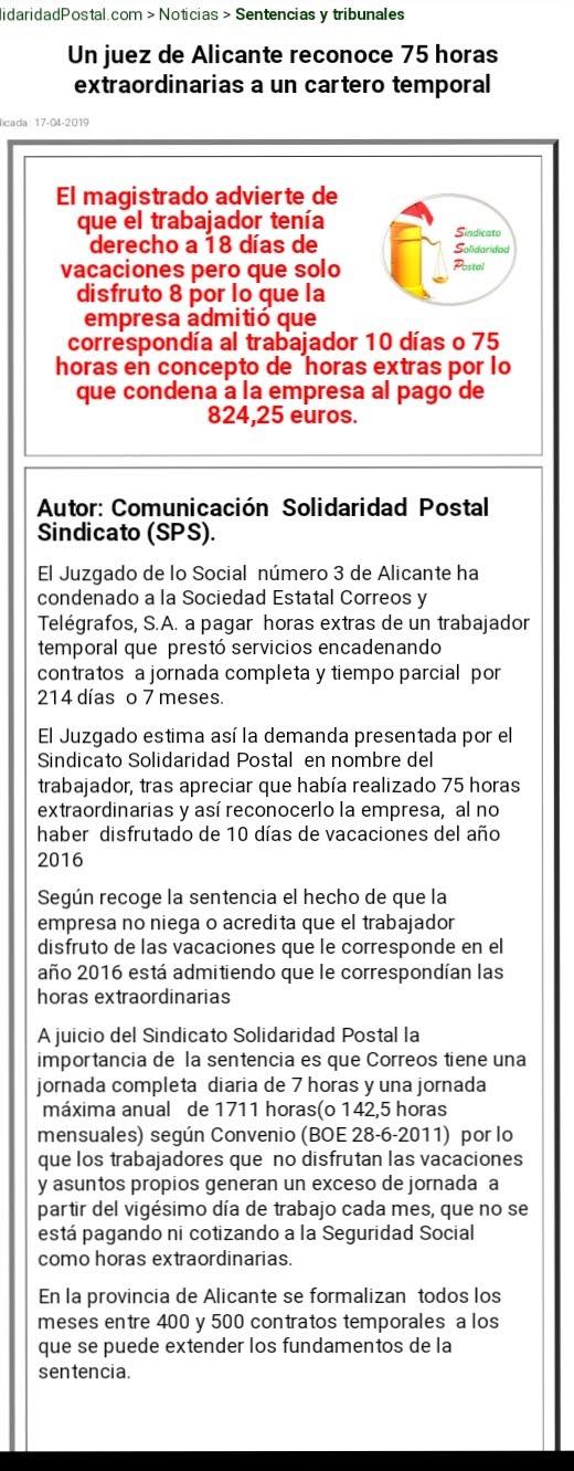17/04/2019-SOLIDARIDAD POSTAL