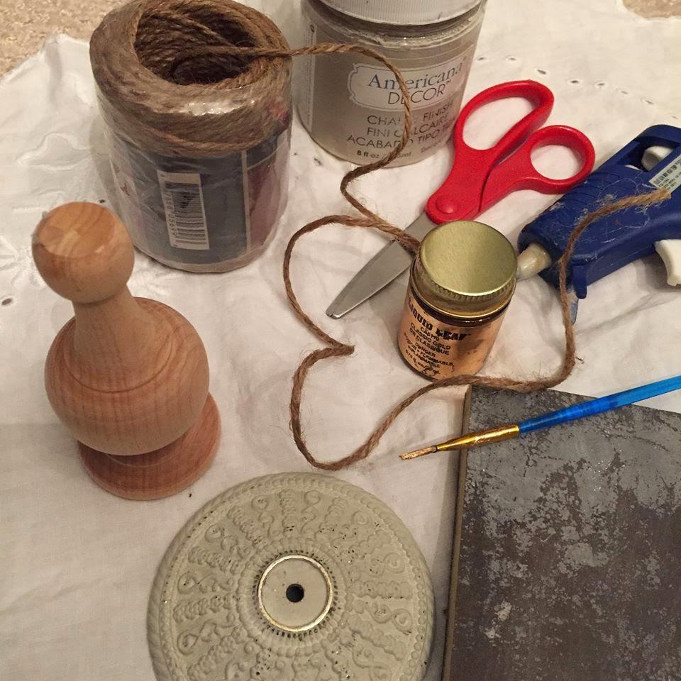 MuchoCrafts: DIY - VINTAGE DOOR KNOBS
