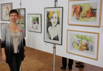 Kunstausstellung in Bürstadt Olga David