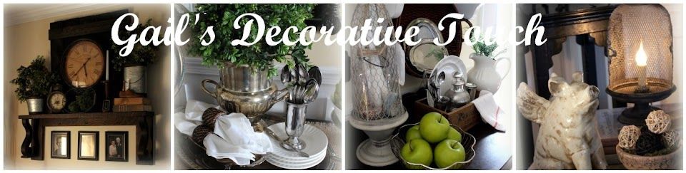 Gail’s Decorative Touch
