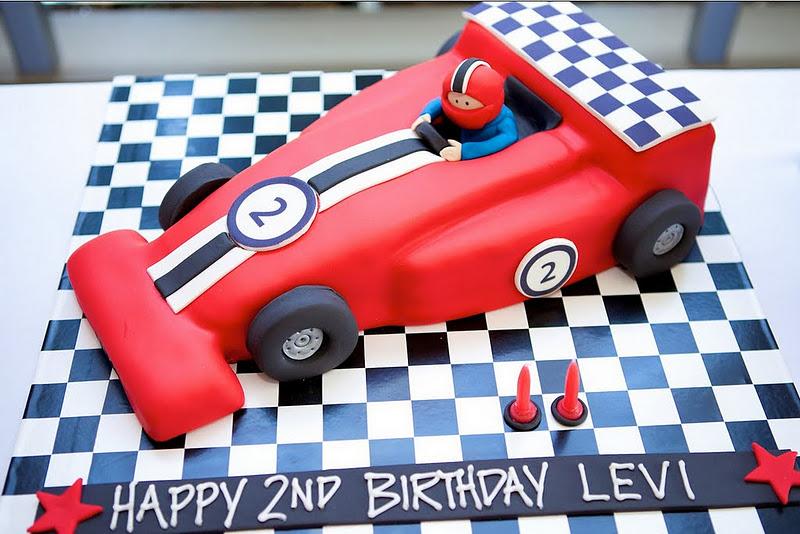 Karas Party Ideas Grand Prix Ferrari Race Car Birthday Party
