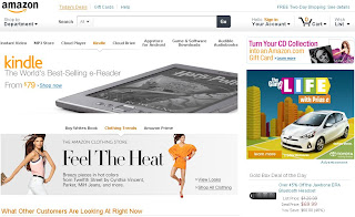photo of home page of Amazon or amazon.com, beautiful wallpaper of amazon or amazon.com homepage.