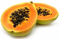 buah pepaya untuk mengatasi jerawat