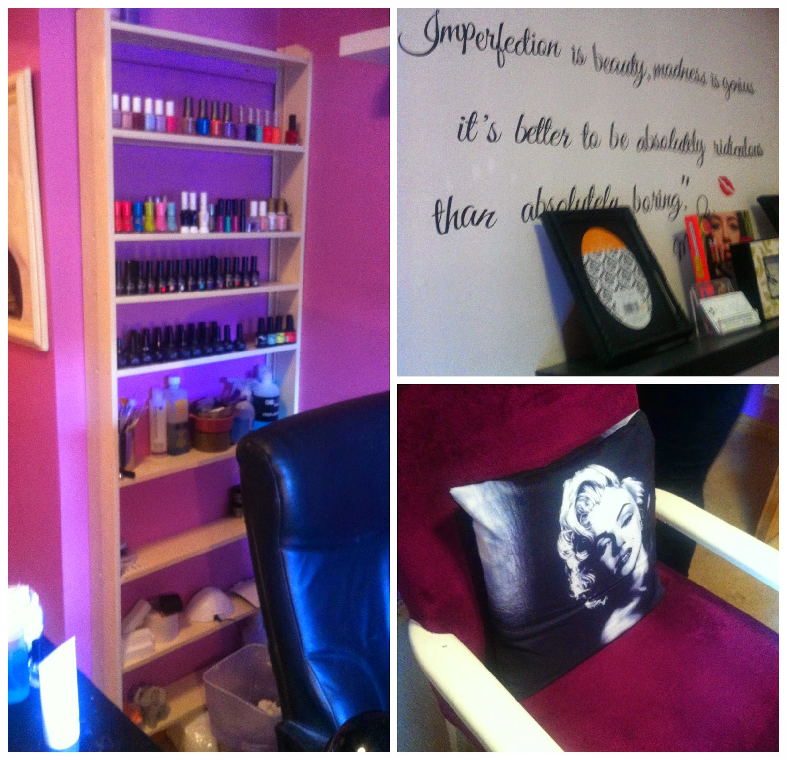 DancingWithDisaster: Under the Nail File - A Trip to NJM Nails Athlone