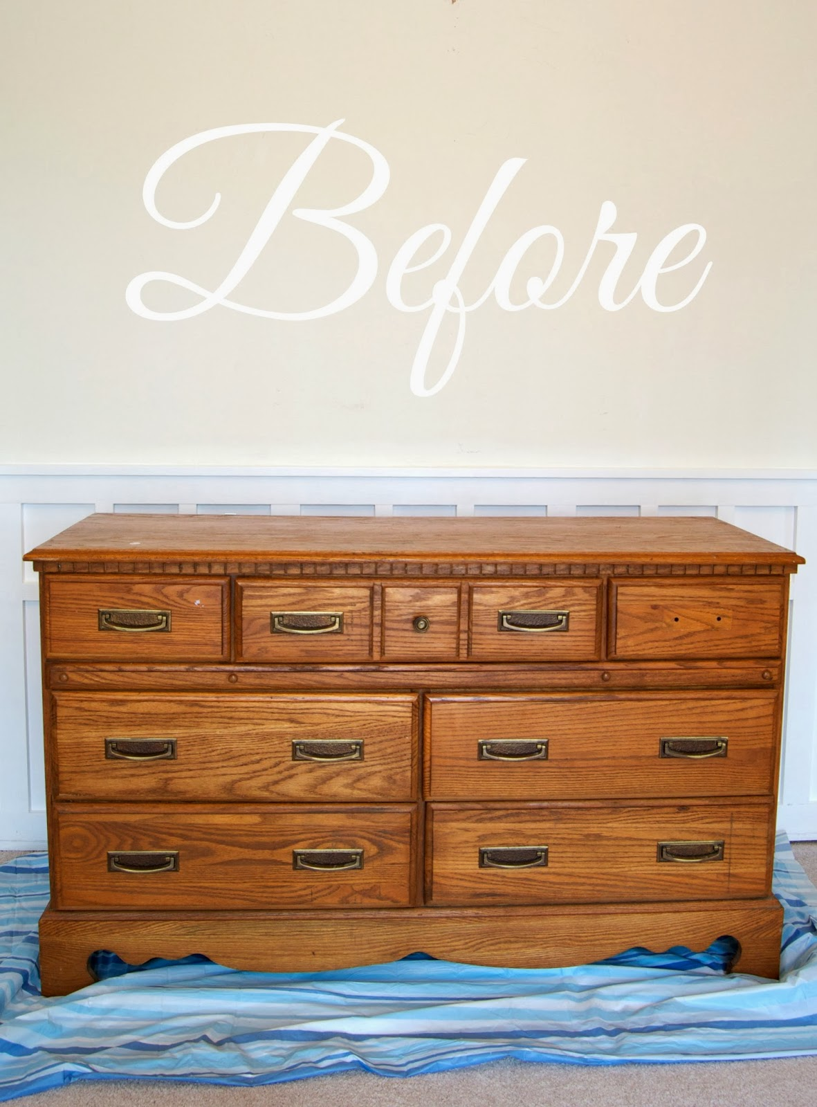 After. LiveLoveDIY  How To Paint Furniture  why it s easier than you think
