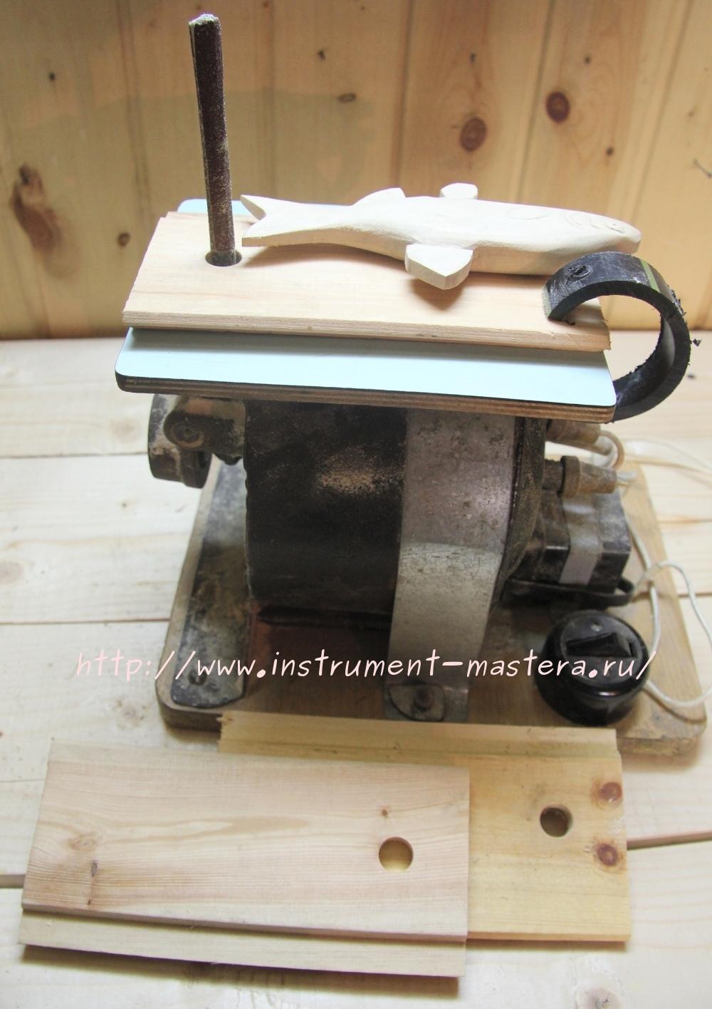 Самодельный электронапильник из электролобзика