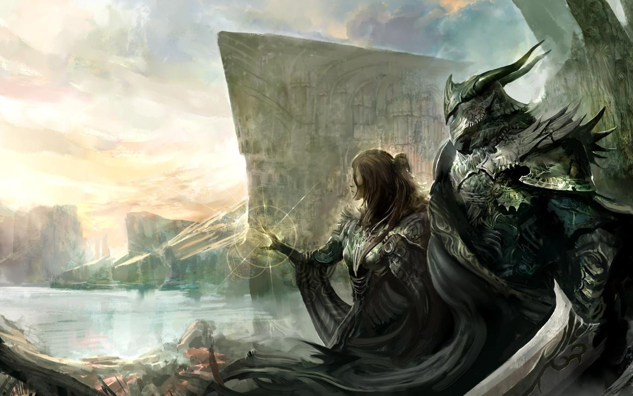 Hd desktop horror wallpapers - Fantasy background ...