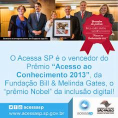 Acessa SP, reconhecido internacionalmente