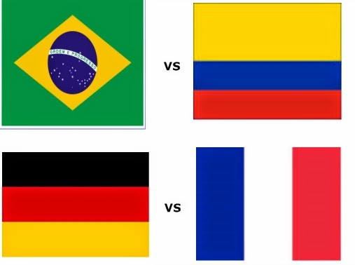 Prediksi Brasil vs Jerman