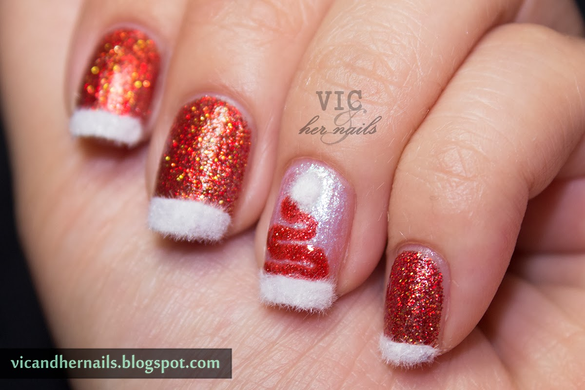 Vic and her nails december nail theme 4 festive french december nail theme 4 festive french manicure prinsesfo Image collections