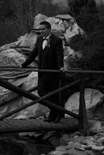 Wedding photography alb negru cu mirele