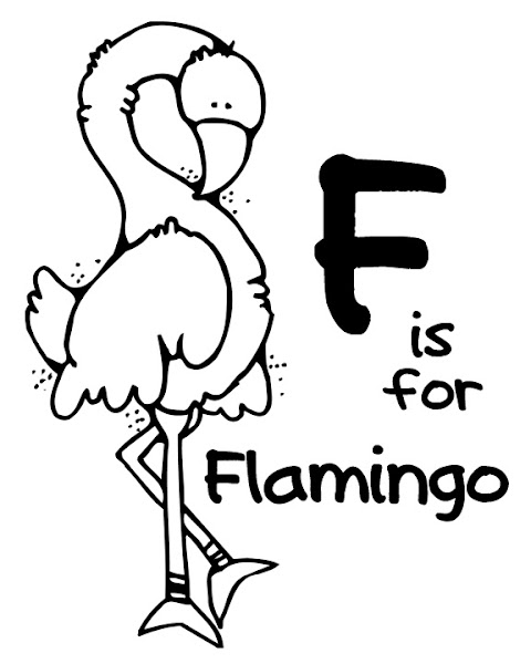 Tracing Letter F Coloring Page