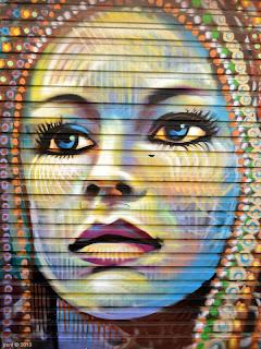 blue eyed garage girl