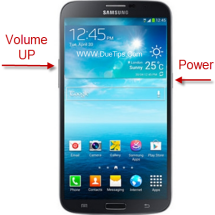 Samsung Galaxy Mega Enter Recovery Mode Buttons