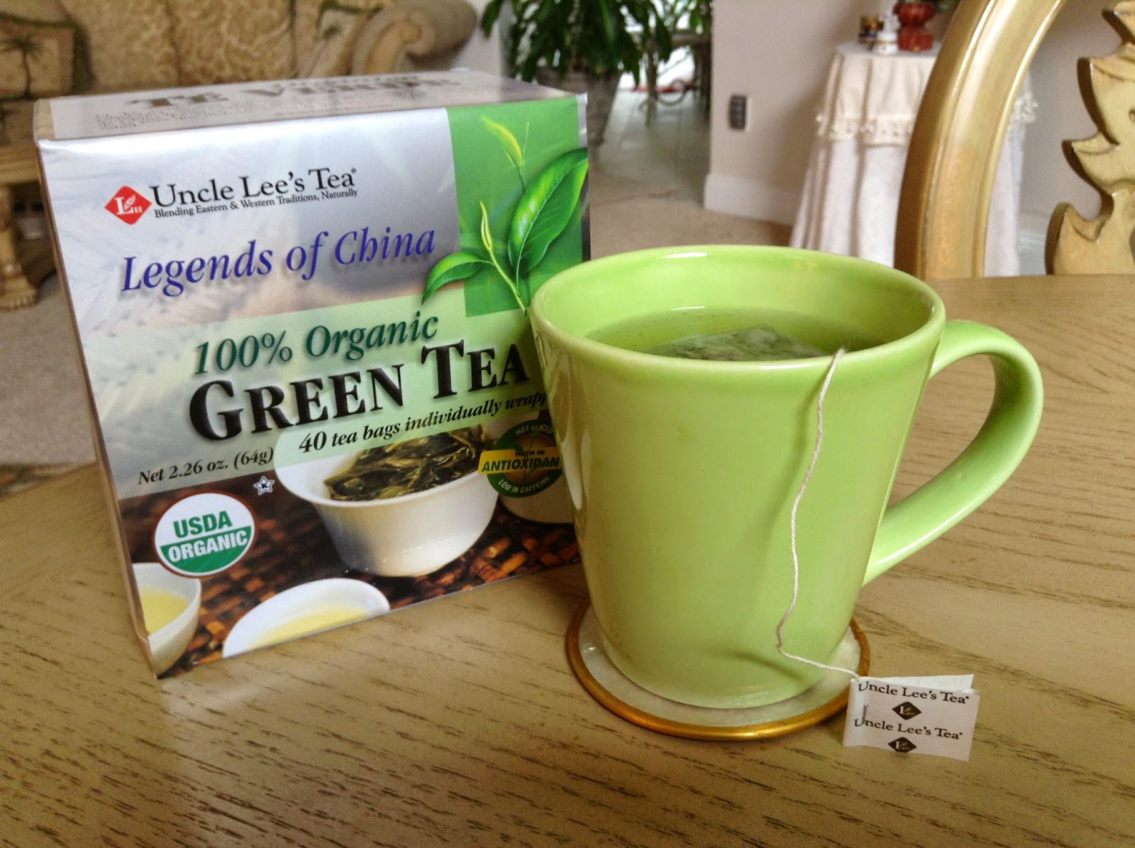 3 Day Refresh Organice Grenn Tea
