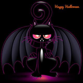 Halloweenbilder katzt